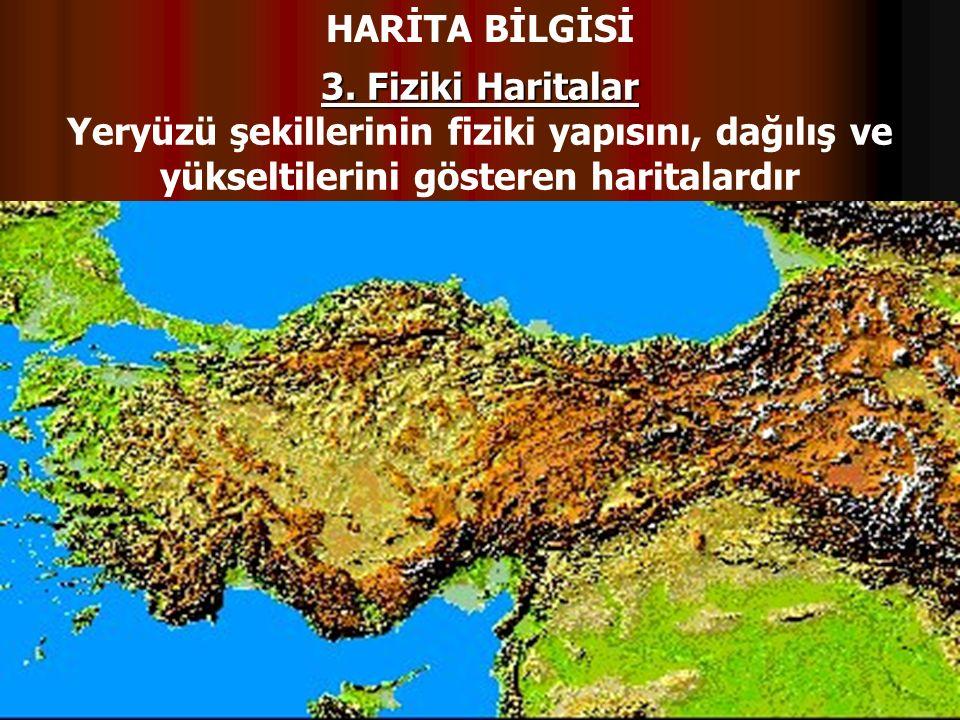 HARİTA BİLGİSİ 3.