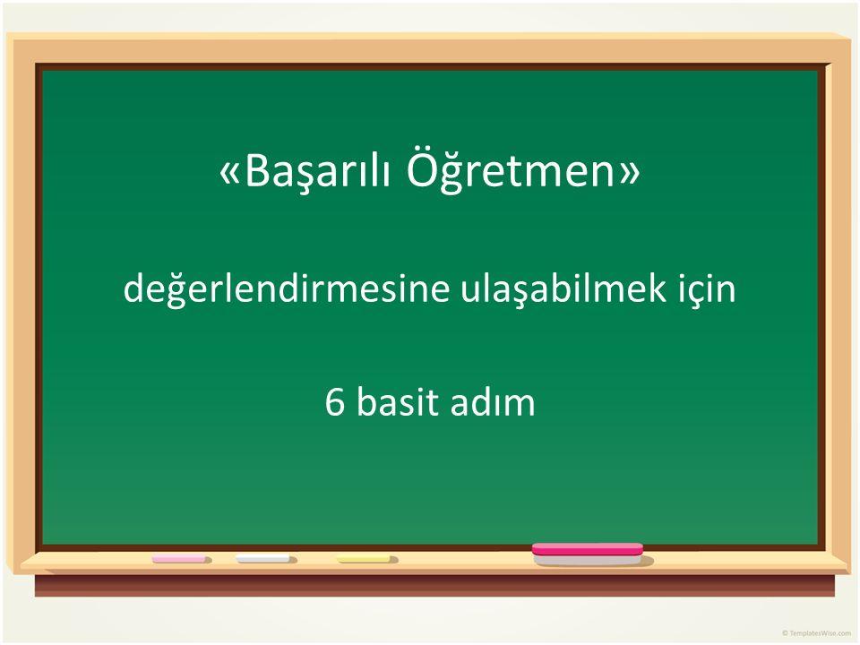 ❶ Öğretmene, «öğretmen başarı standartlarını» kullanarak öz-değerlendirme yapma alışkanlığı kazanabilmesi için basit ve kullanışlı bir çerçeve sunun…