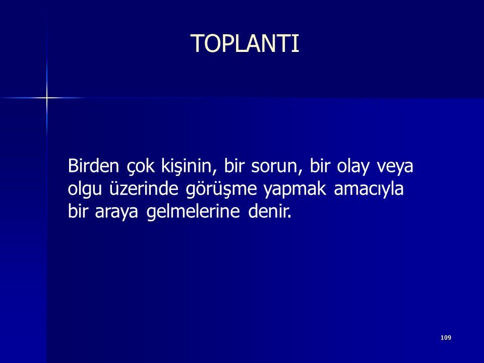 108 TOPLANTI YÖNETİMİ www.evrimera.com