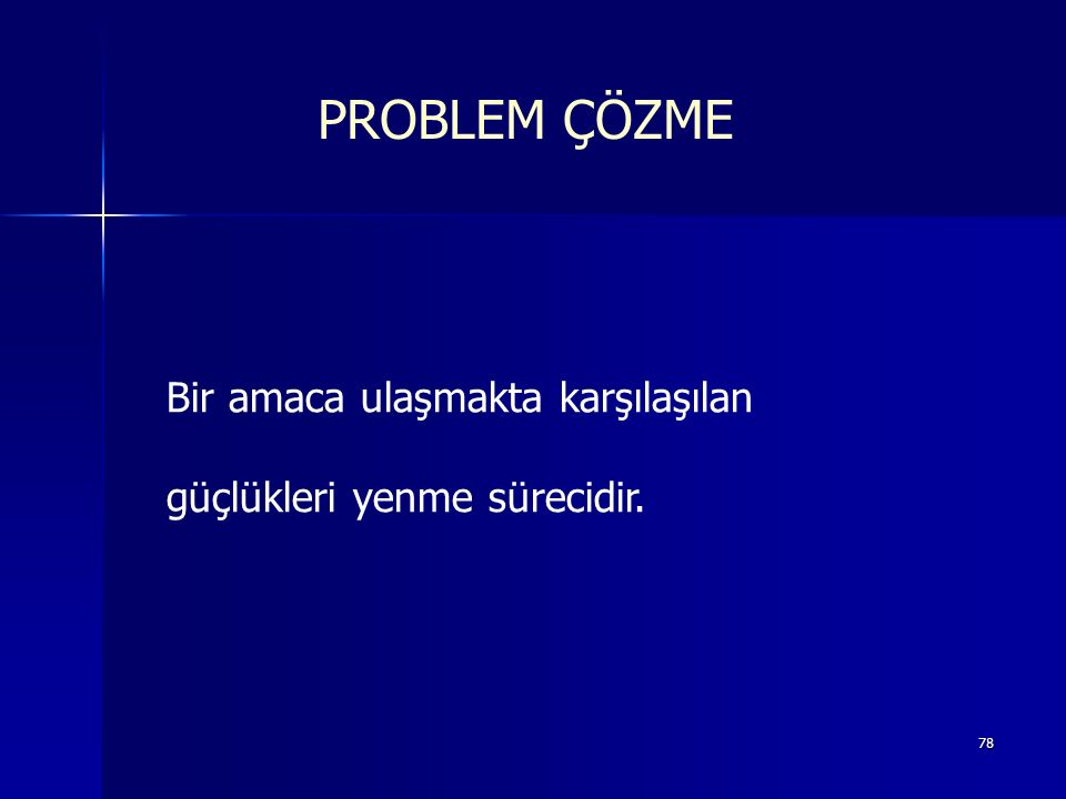 77 PROBLEM ÇÖZME www.evrimera.com