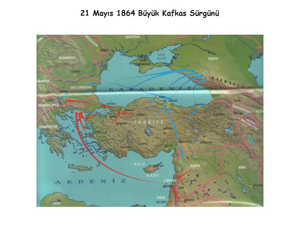 21 Mayıs 1864 Büyük Kafkas Sürgünü