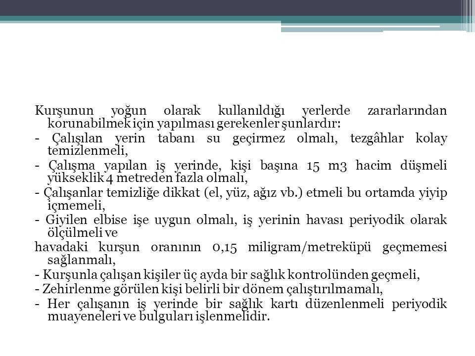 İnorganik tozlara bağlı başlıca hastalıkları: - Slikoz: Türkiye'de en sık görülen meslek hastalığıdır.
