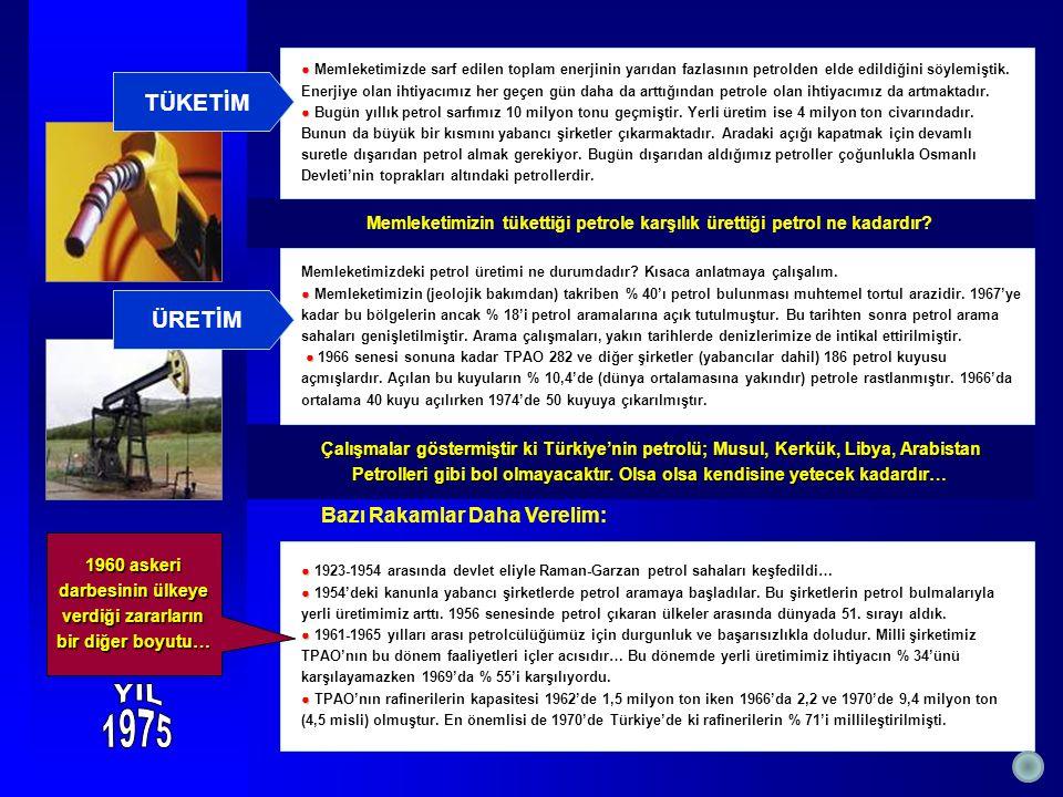Çalışmalar göstermiştir ki Türkiye'nin petrolü; Musul, Kerkük, Libya, Arabistan Çalışmalar göstermiştir ki Türkiye'nin petrolü; Musul, Kerkük, Libya, Arabistan Petrolleri gibi bol olmayacaktır.
