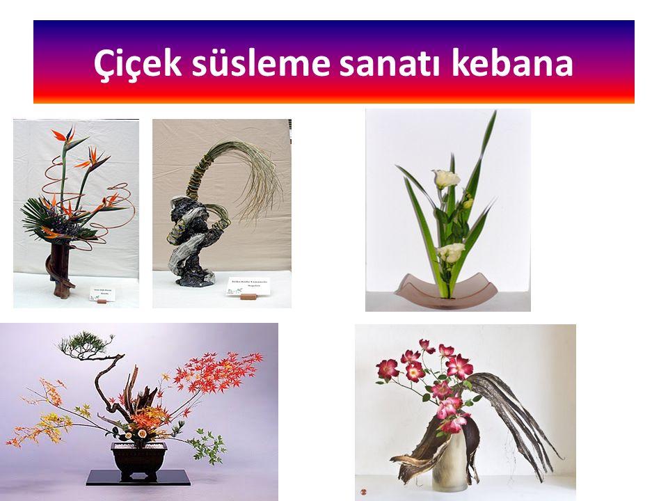 Çiçek süsleme sanatı kebana