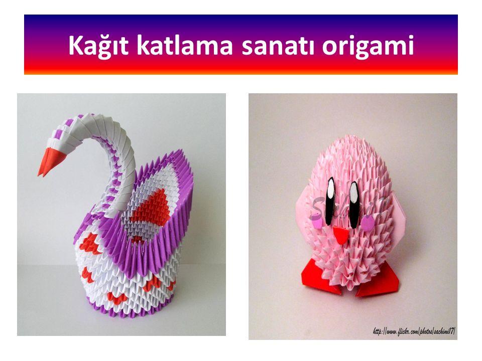 Kağıt katlama sanatı origami