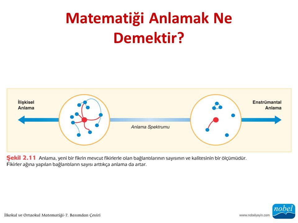 Matematiği Anlamak Ne Demektir?