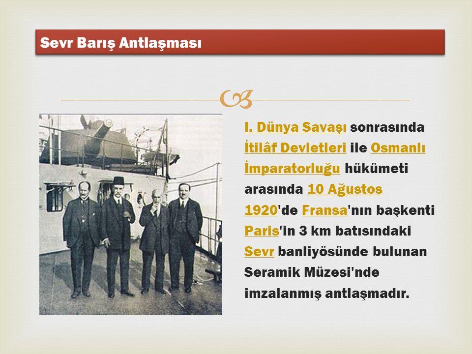  10 AĞUSTOS 1920