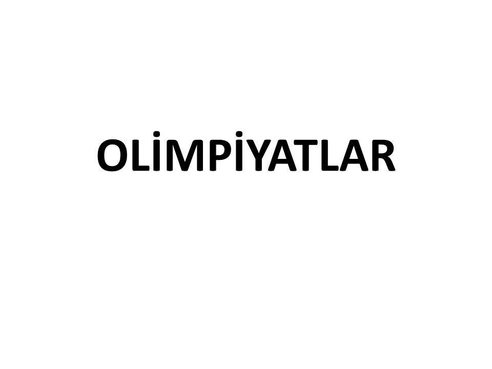 OLİMPİYATLAR