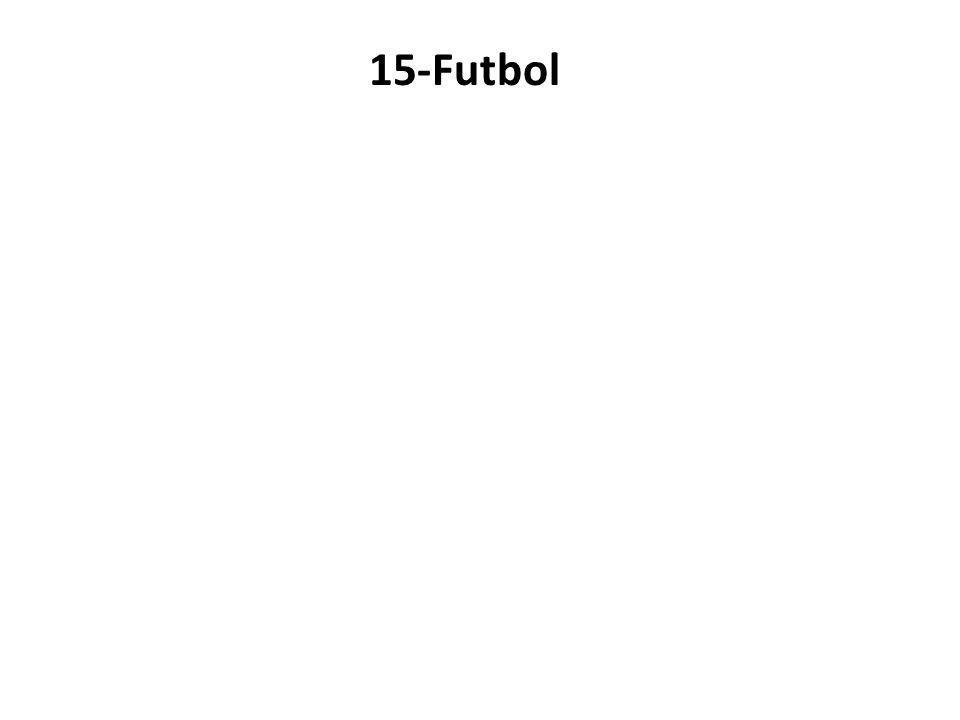 15-Futbol