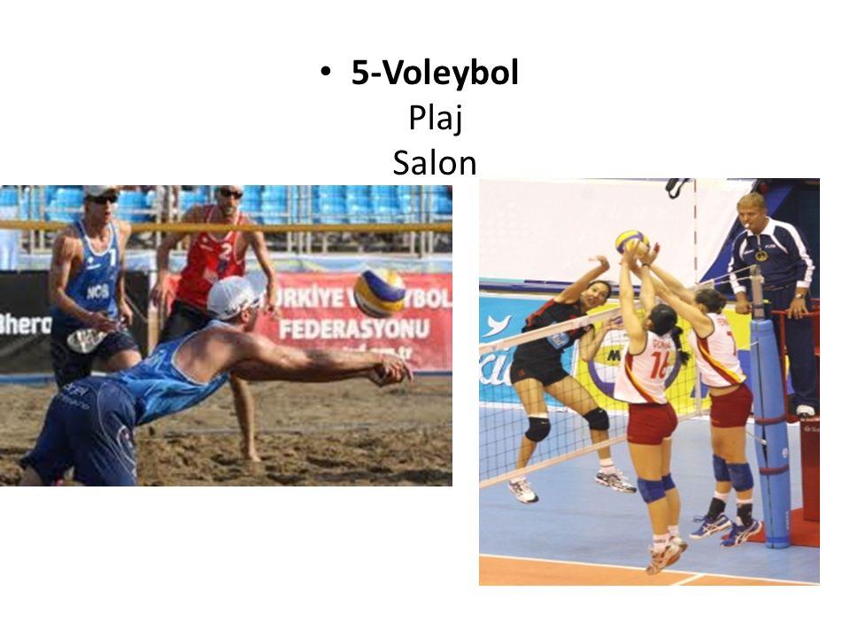 5-Voleybol Plaj Salon
