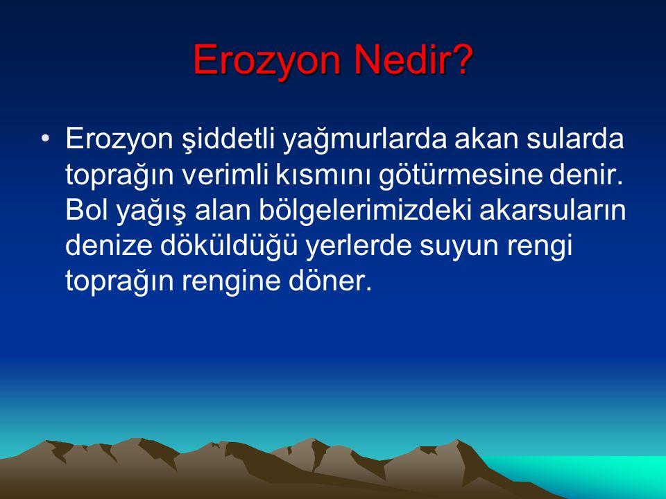 Erozyon Nedir.