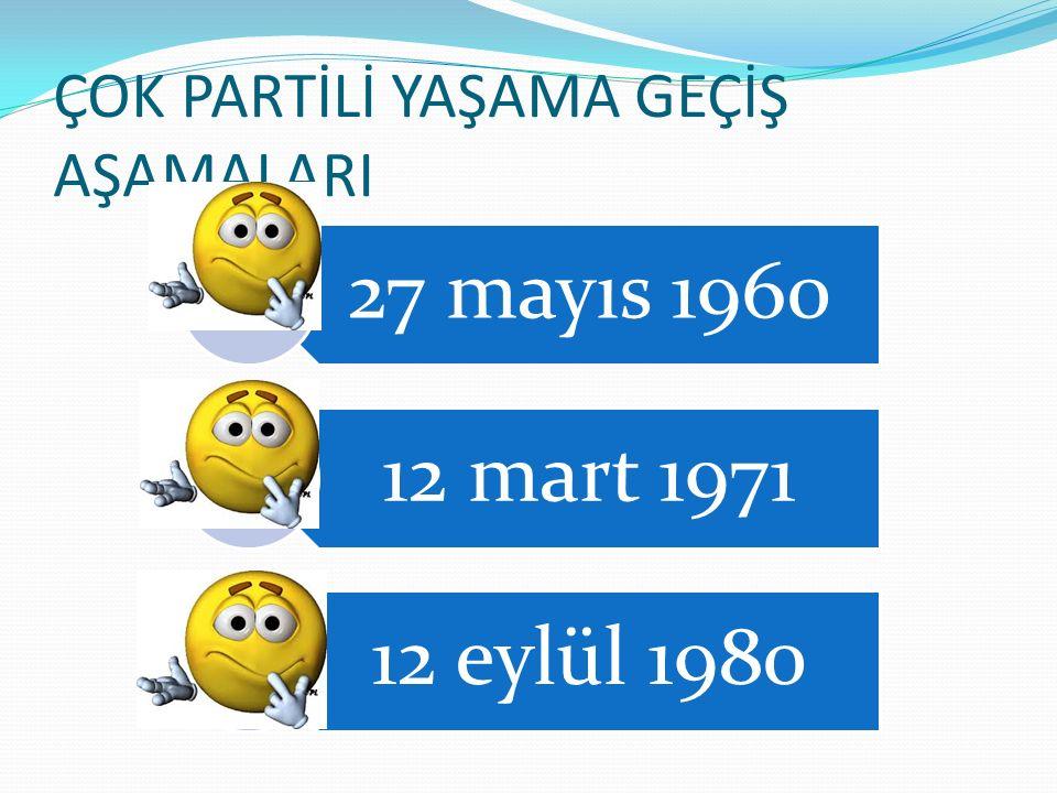 GÜNÜMÜZDE Türkiyede demokrasinin tüm ilke,kural ve kurumlarıyla yerleşmesinin ve sürdürülmesinin gerekli olduğu görüşü toplumun hemen hemen bütün kesimlerince kabul edilmektedir.