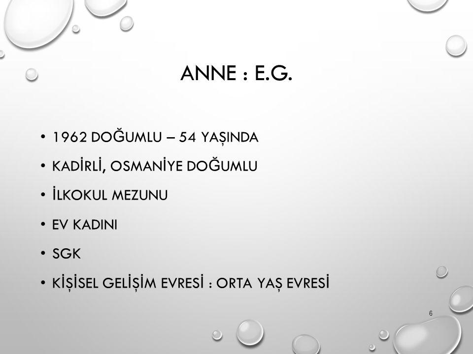 ANNE : E.G.