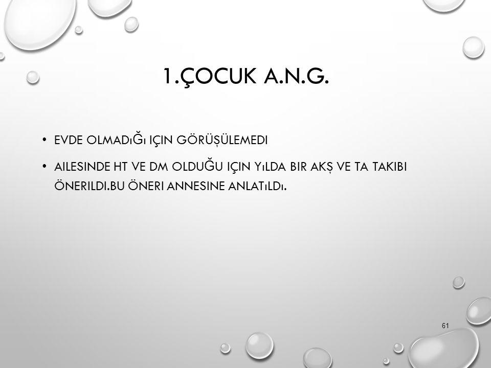 1.ÇOCUK A.N.G.
