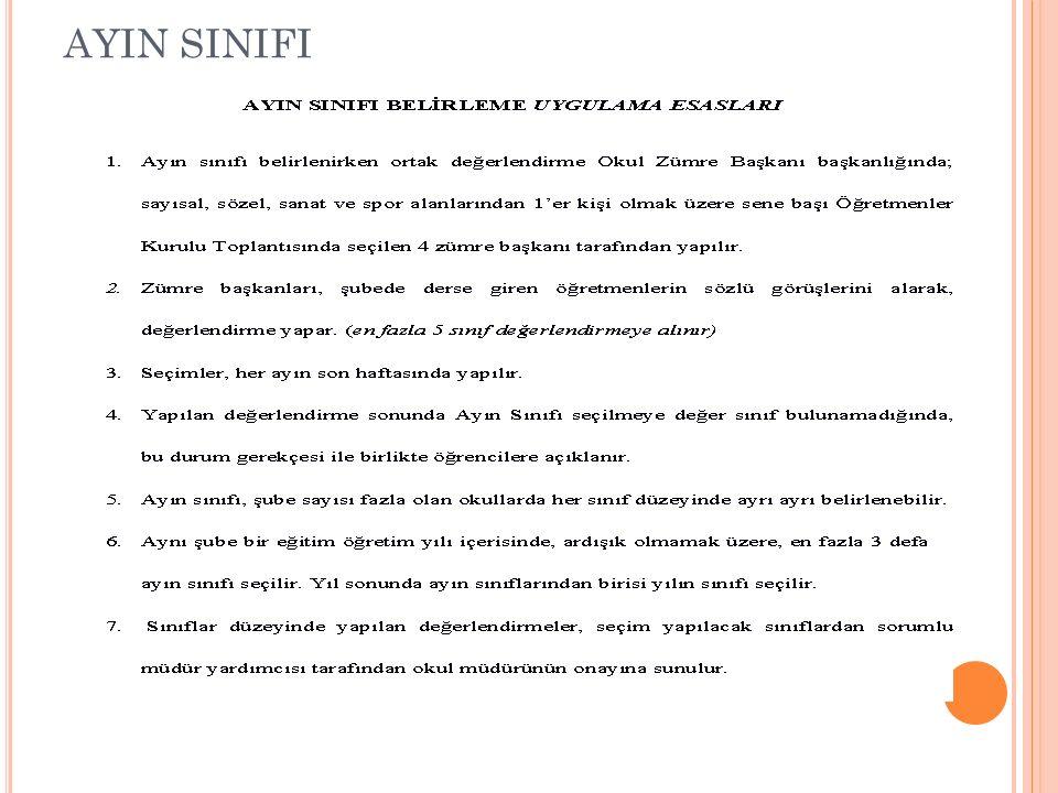 AYIN SINIFI
