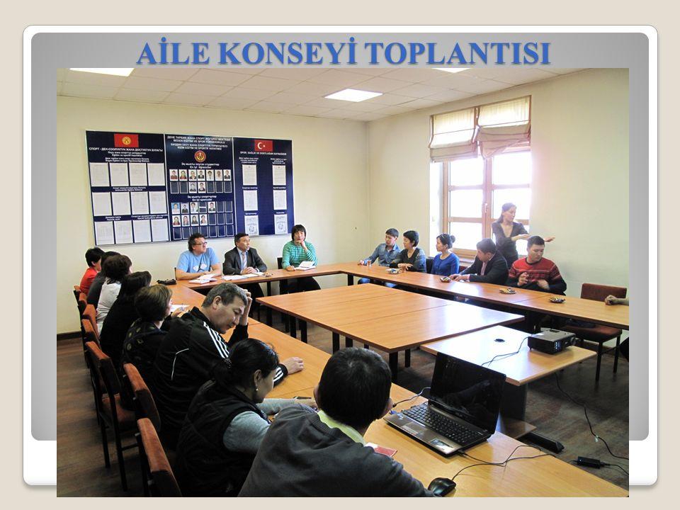 AİLE KONSEYİ TOPLANTISI