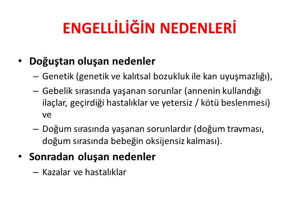 Doğuştan oluşan nedenler – Genetik (genetik ve kalıtsal bozukluk ile kan uyuşmazlığı), – Gebelik sırasında yaşanan sorunlar (annenin kullandığı ilaçla