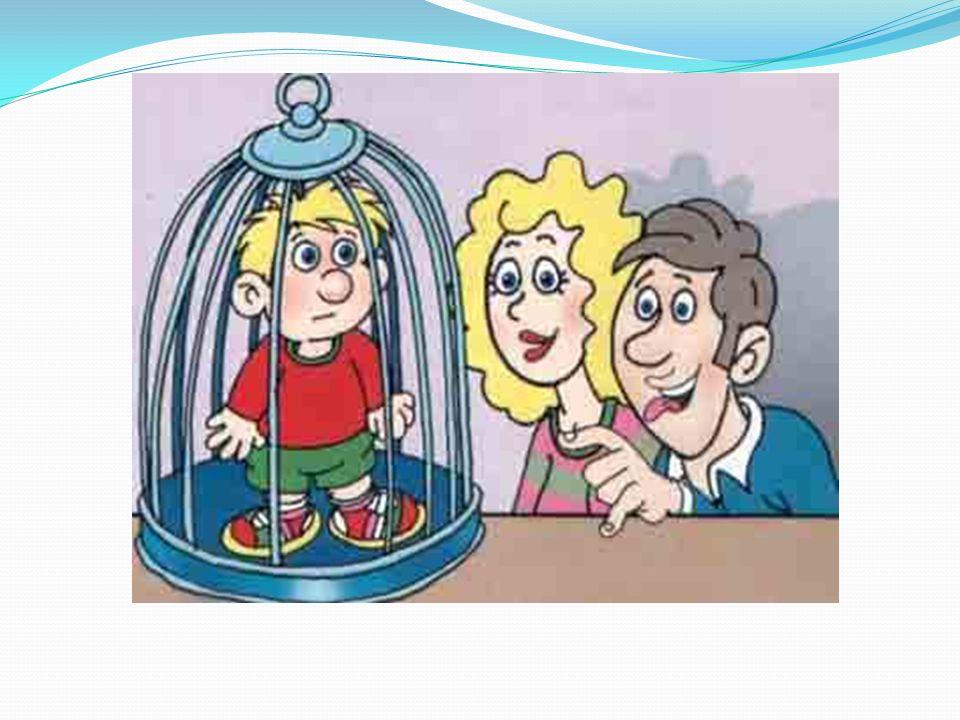Bu şekilde yetişen çocuklar;  Çocuk içine kapanık, çekingen, itaatkar olabileceği gibi aşırı saldırgan ve zorba da olabilir.
