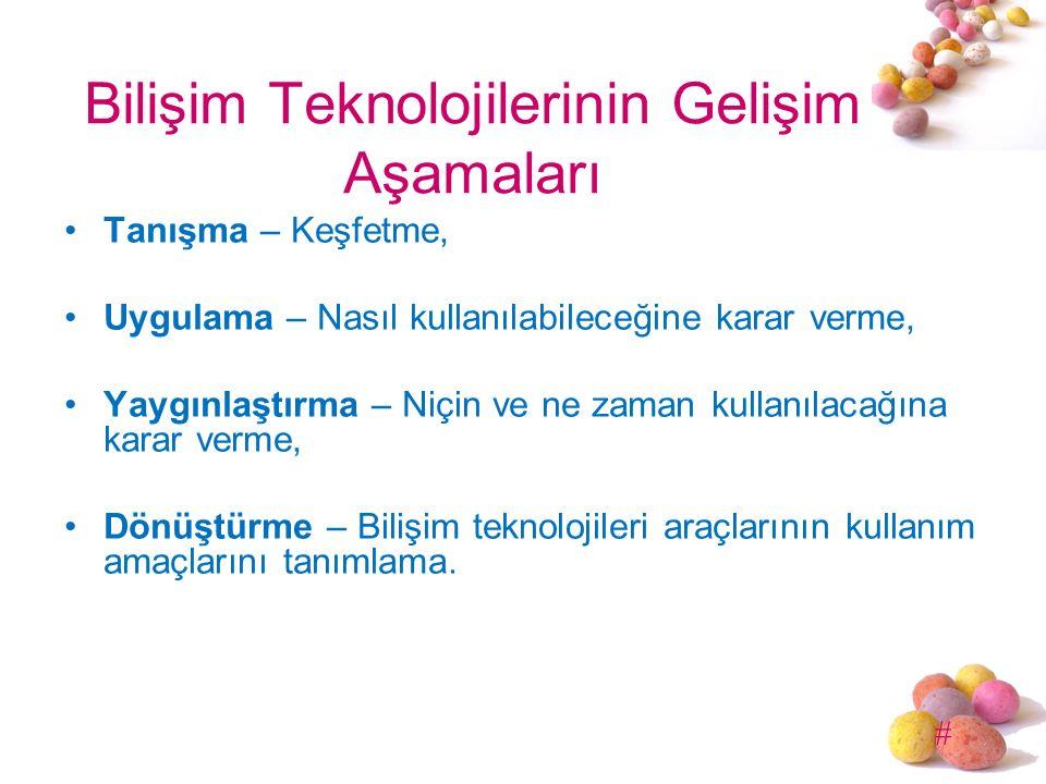 # Yeni öğretim programıyla birlikte bilişim teknolojileri dersinin 6-8.