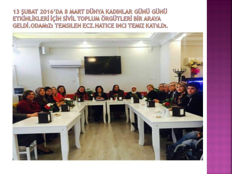  15.02.2016'da Denetleme kurulu üyemiz Ecz.Bengü Betül Çetin annesi için yemekli Yasin-i Şerif okutuldu.