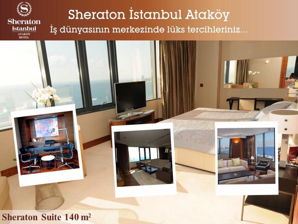 Sheraton Suite 140 m 2