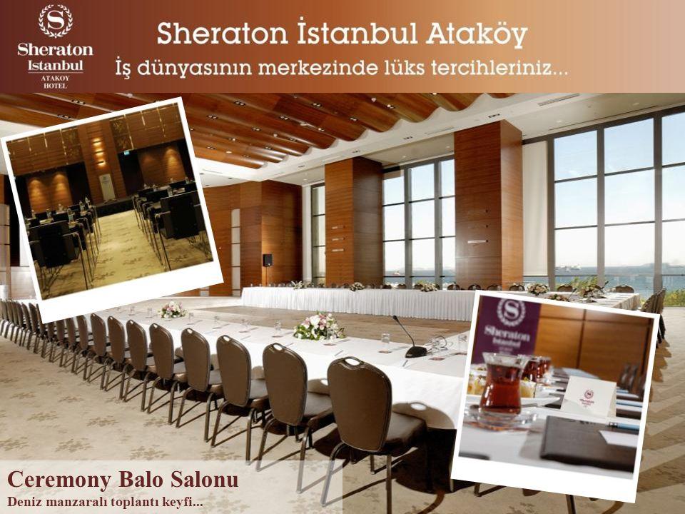 Ceremony Balo Salonu Deniz manzaralı toplantı keyfi...