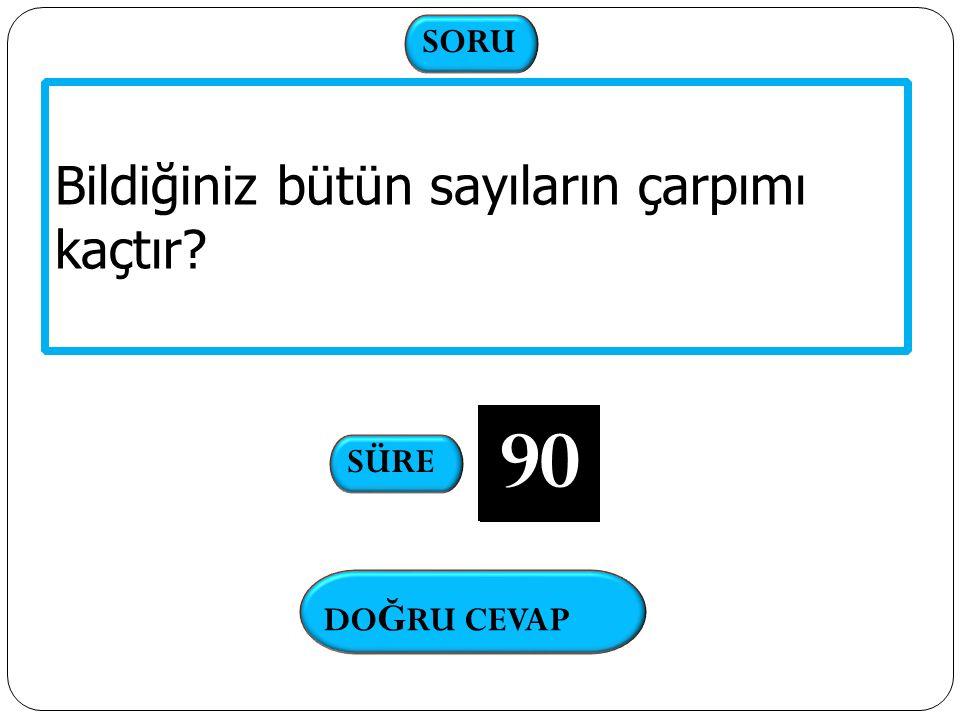 DO Ğ RU CEVAP 97 SORULAR