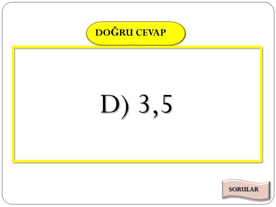 SÜRE DO Ğ RU CEVAP Kazanım 3.2.