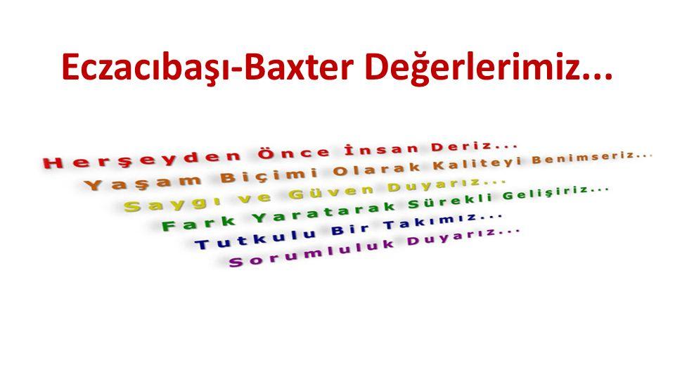 Eczacıbaşı-Baxter Değerlerimiz...
