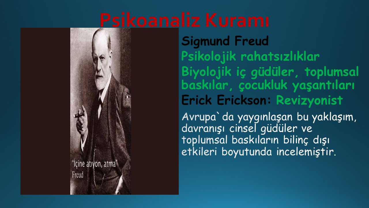 Psikoanaliz Kuramı
