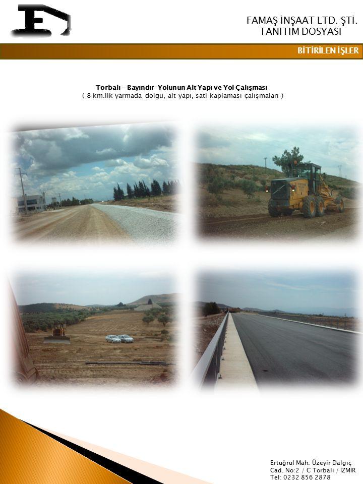 FAMAŞ İNŞAAT LTD.ŞTİ.