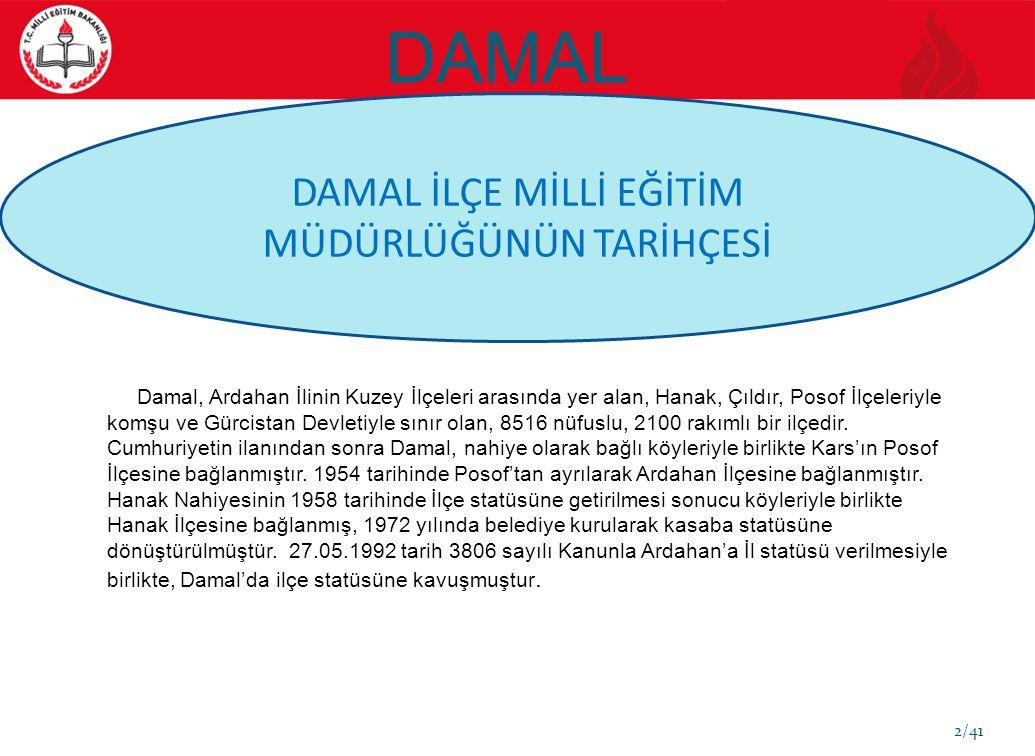 DAMAL 3/41.03.12.1983 tarihinde 179 sayılı KHK.