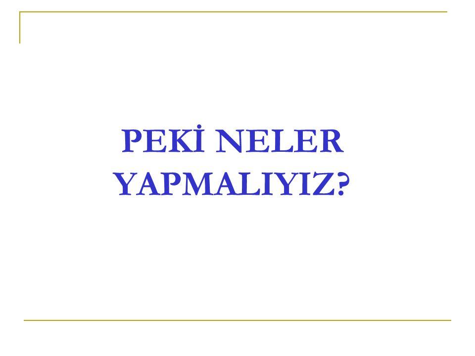 PLANLI HAREKET EDİN.