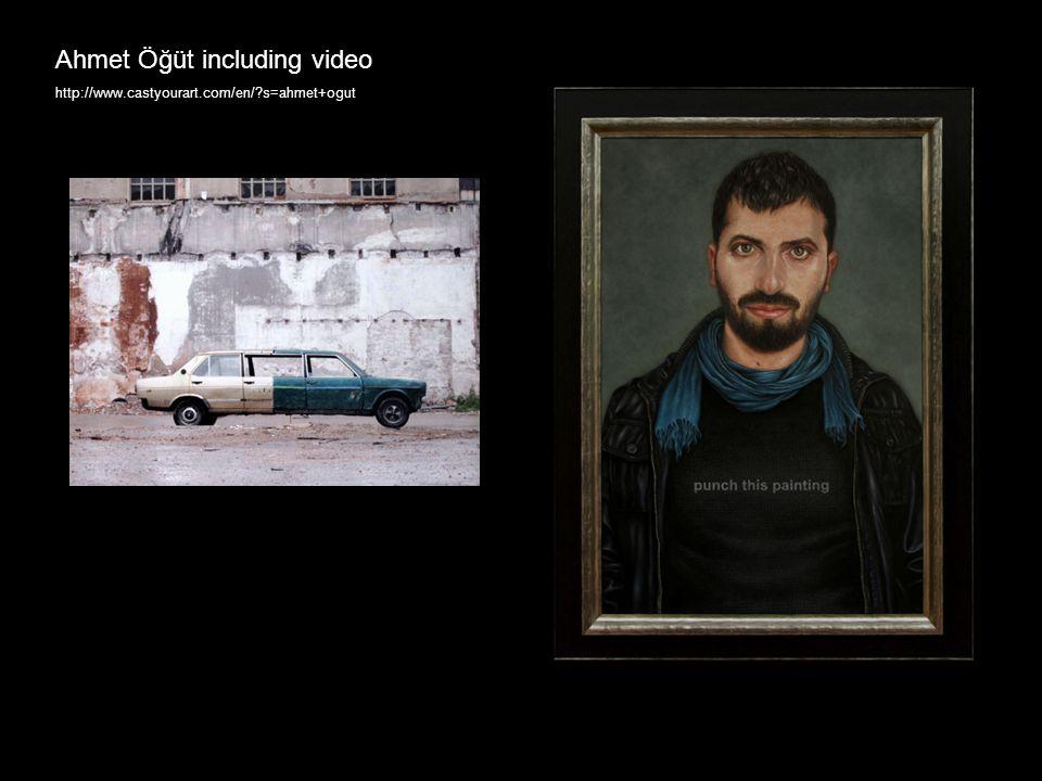 Ahmet Öğüt including video http://www.castyourart.com/en/ s=ahmet+ogut