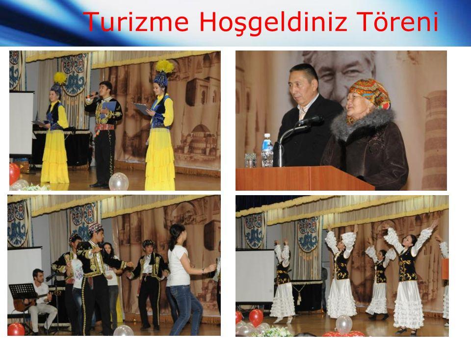 Turizme Hoşgeldiniz Töreni