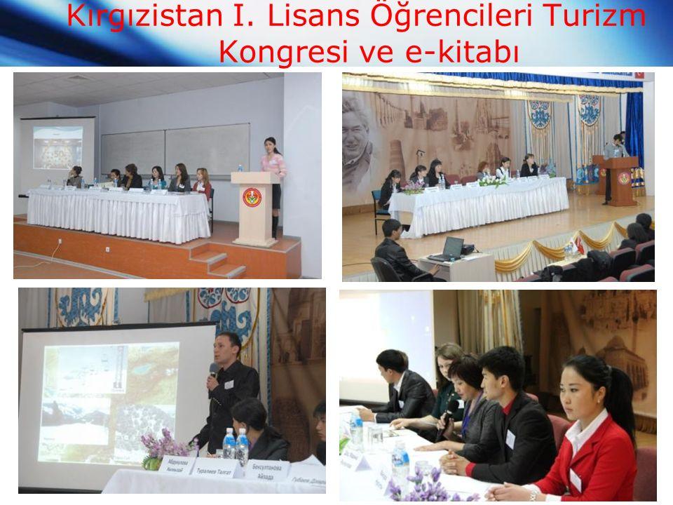 Kırgızistan I. Lisans Öğrencileri Turizm Kongresi ve e-kitabı