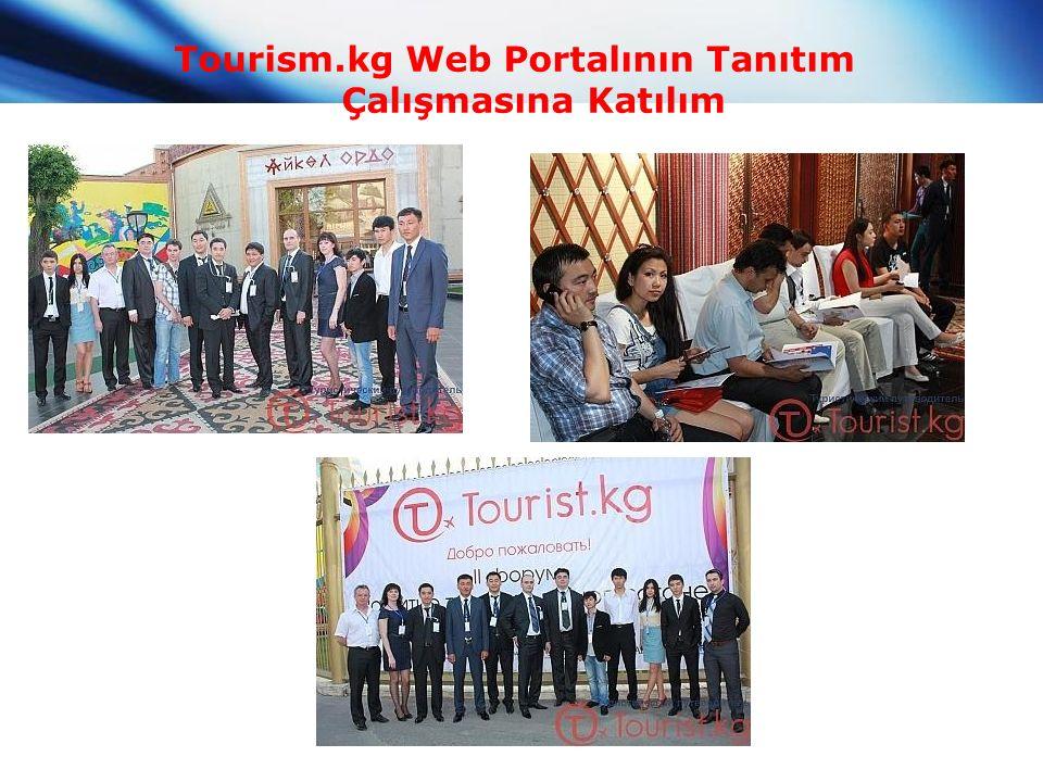Tourism.kg Web Portalının Tanıtım Çalışmasına Katılım