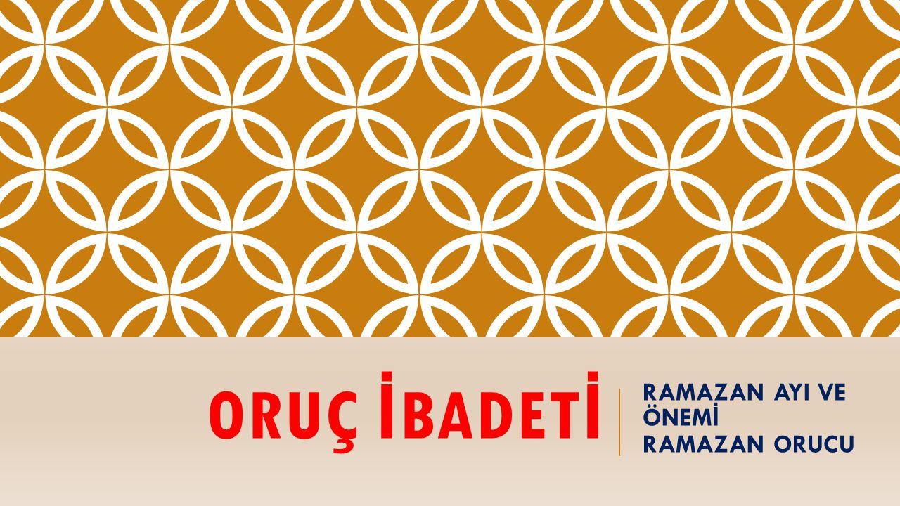 Ramazan ayını önemli kılan hususlar nelerdir.Kur'an bu ayda indirilmiştir.