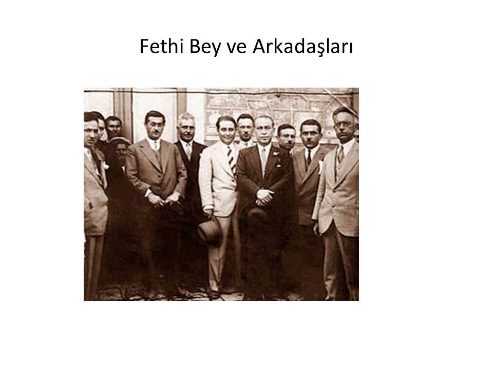 Fethi Bey ve Arkadaşları