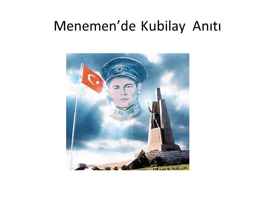 Menemen'de Kubilay Anıtı