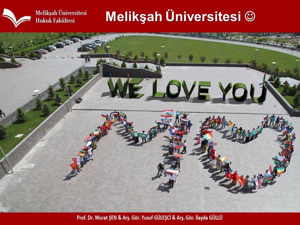 Melikşah Üniversitesi Melikşah Üniversitesi