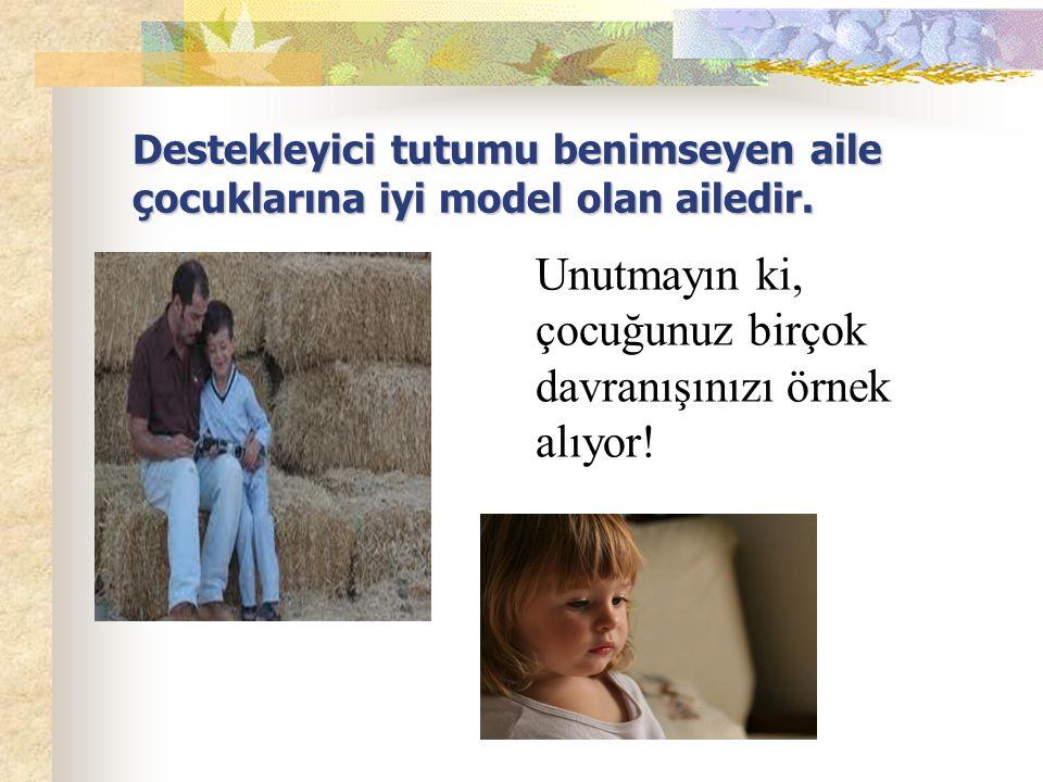 Çocuk sınırlar içerisinde özgürdür. Neyi,ne zaman ve ne şekilde yapacağını çok iyi bilir. Aile bireyleri arasında etkili bir iletişim söz konusudur.