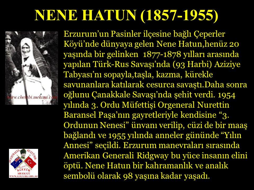 HALİDE ONBAŞI (EDİP ADIVAR) (1884-1964) 1919 da Sultanahmet Meydanı ndaki mitingde halkı işgallere karşı uyandırmak için yaptığı etkili konuşma sonrası hakkında tevkif kararı çıktı.1920 de Anadolu ya kaçarak Kurtuluş Savaşı na katıldı.