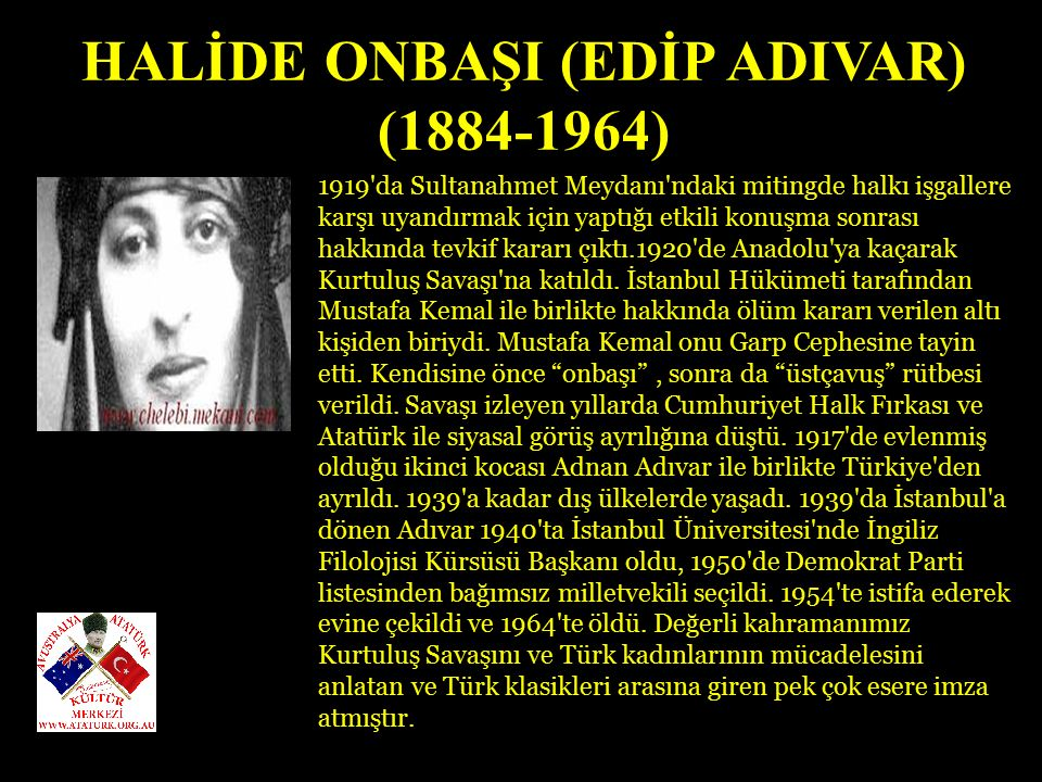 GÖRDESLİ MAKBULE HANIM 1921'de eşi Ustrumcalı Ali Efe ile birlikte Milli Mücadelede çete savaşlarına katılmıştı.