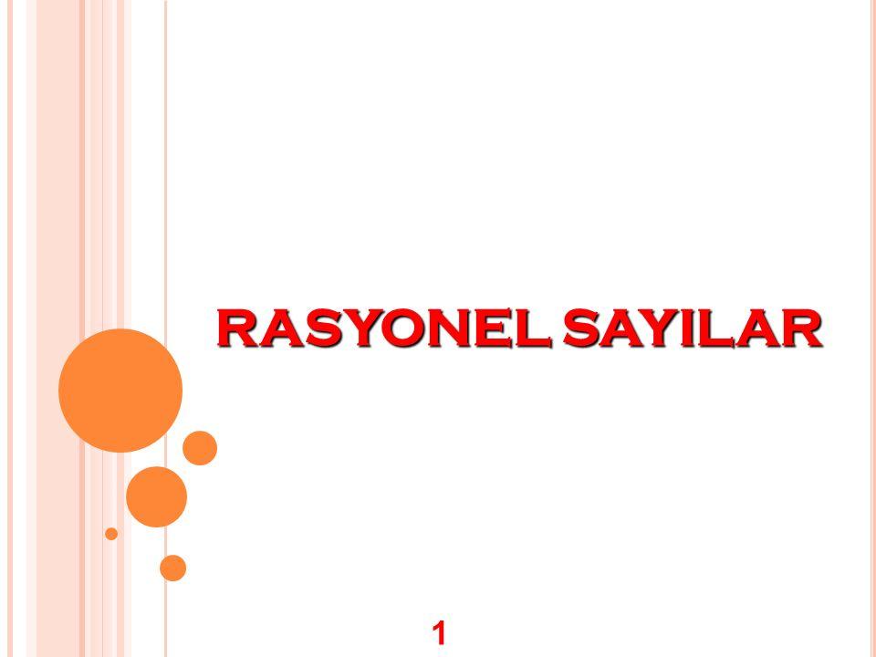 RASYONEL SAYILAR 1