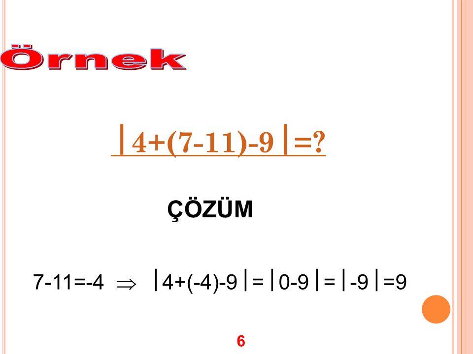 T AM SAYıLARıN RASYONEL SAYı OLARAK YAZıLMASı -2, 9, 7, ve 0 sayılarını rasyonel sayı olarak yazalım Buradan da anlaşılacağı gibi her tamsayı paydası 1 olan bir rasyonel sayıdır.