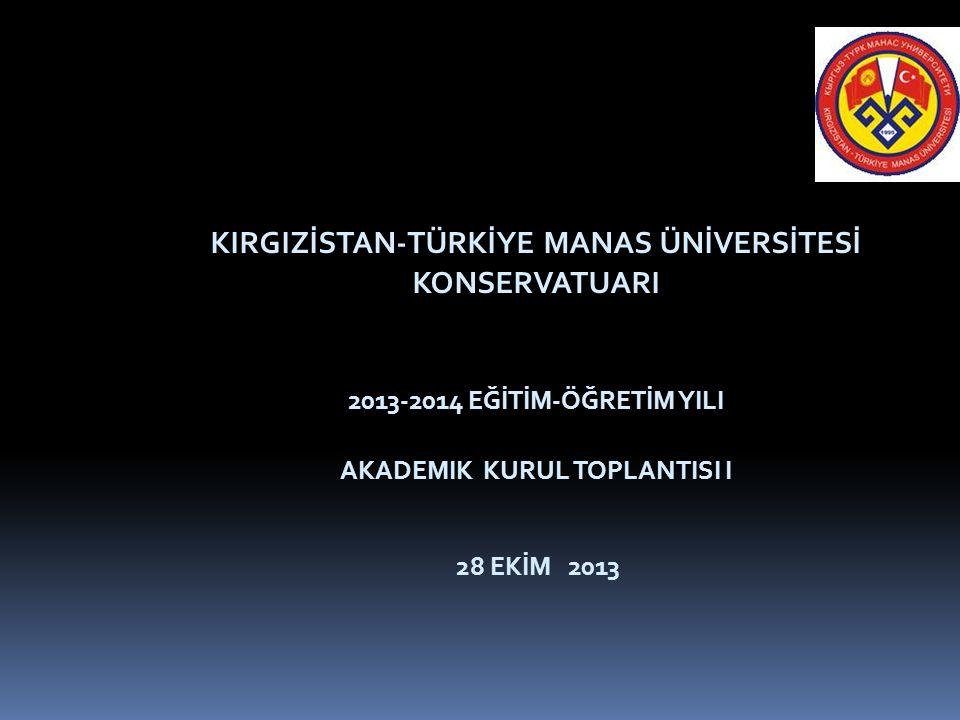 2013-2014 YILI EKİM- KASIM KÜLTÜREL VE SANATSAL ETKİNLİKLER  28 Ekim 2013 'T.C Devleti'nin 90.