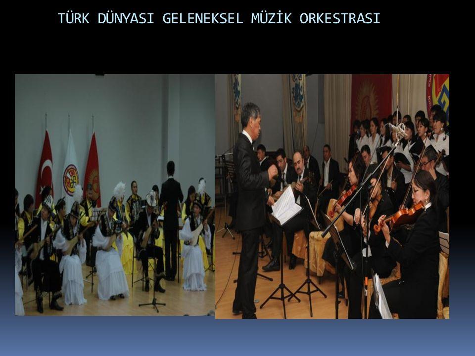 TÜRK DÜNYASI GELENEKSEL MÜZİK ORKESTRASI  foto