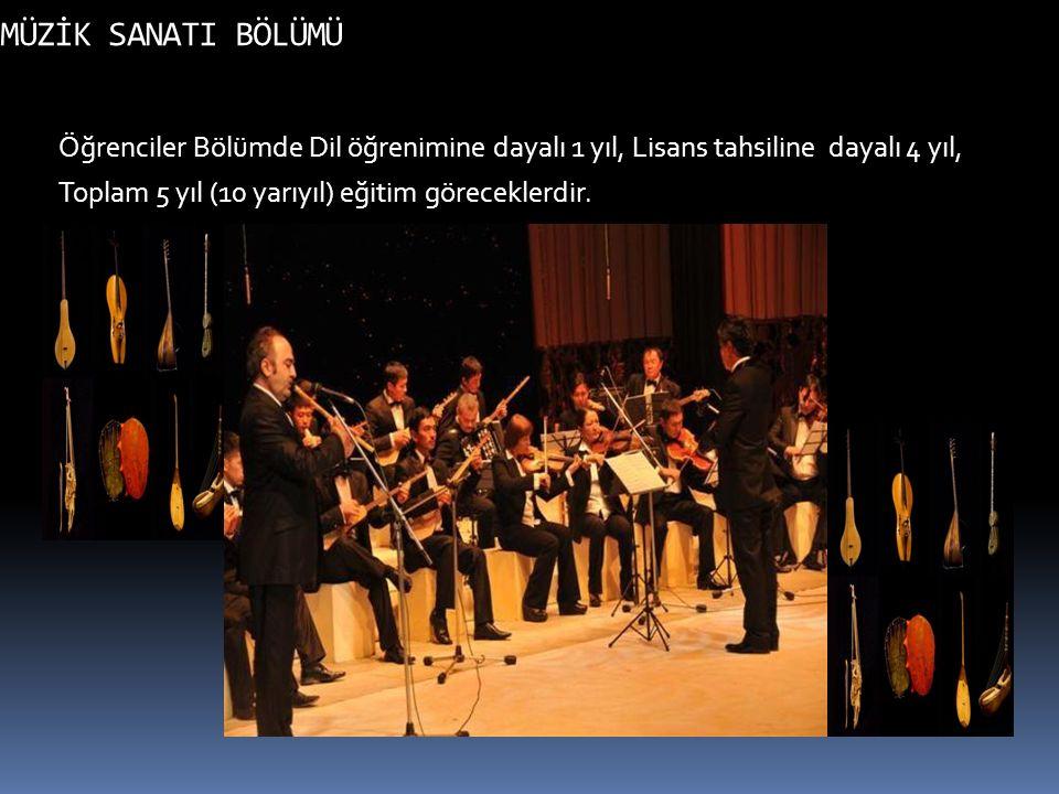 TİYATRO SANATI BÖLÜMÜNÜN AMACI Sahne- Tiyatro oyunculuğunun yanında Televizyon ve sinema oyunculuğuna da ağırlık veren bölümümüzün amacı Genel Tiyatro kültürü ile Türk Dünyası ve dolayısıyla Türkiye ve Kırgızistan Tiyatro kültürünü benimsemiş, özümsemiş çağdaş tiyatroya yetenekli oyuncu, drama oyuncusu, yazarı, drama adamı rejisör- yönetmen yetişmesini sağlar.