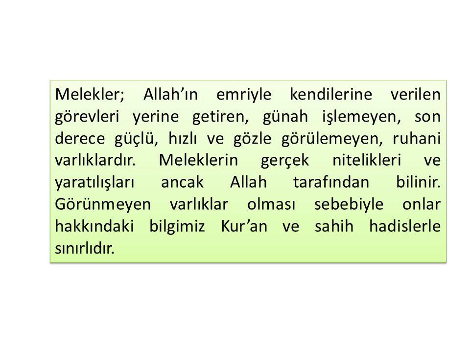 Kur'an-ı Kerim, Cahiliye Dönemi müşriklerinin yanlış melek anlayışını, tevhid akidesi çerçevesinde değerlendirmiştir.